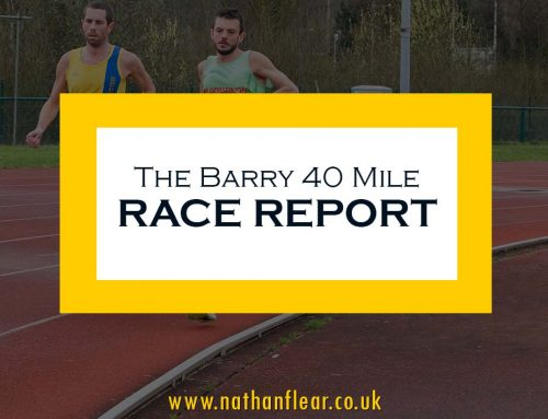 Barry 40 Mile Race Report